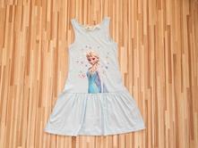 Bavlnené šaty frozen 122/128, h&m,122