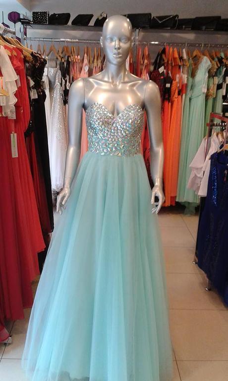 d4c6cad6a55 Tyrkysové - svetlomodré spoločenské šaty