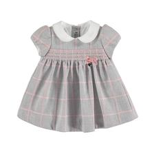 Mayoral šaty layette girl silver, mayoral,68 / 74 / 86