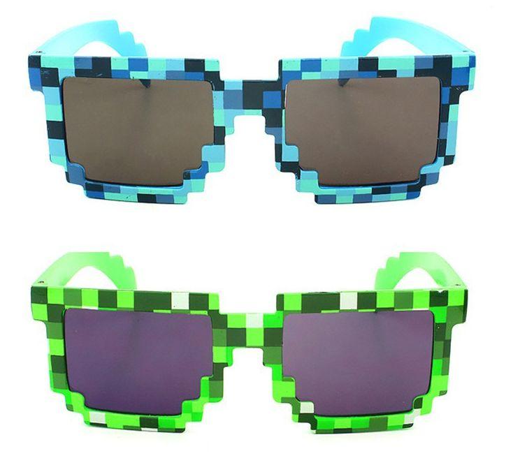 Minecraft slnečné okuliare (2 farby) aaa01632d89