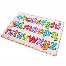 Drevená didaktická hračka - uč sa písať,