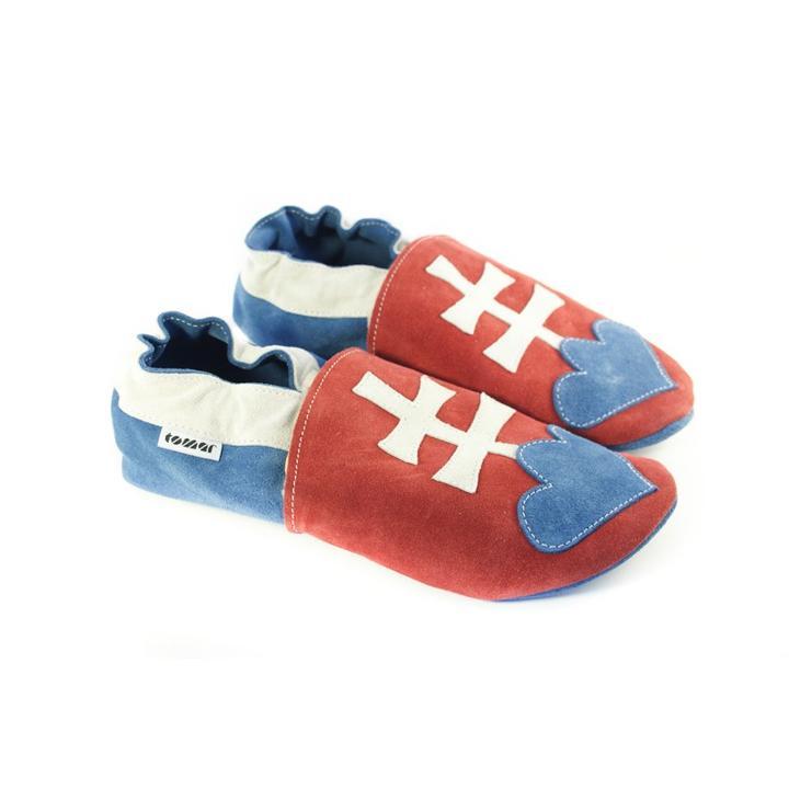 a268e9a5b Kožené capačky Tomar - Vyrobené na Slovensku - pohodlné papuče aj pre  dospelých - Album používateľky capacky - Foto 1