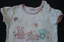 Tričko, krátky rukáv pre dievcatko, cherokee,80