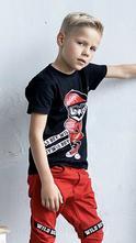 Chlapčenské tričko s krátkym rukávom 434  wild boy, 104 - 158