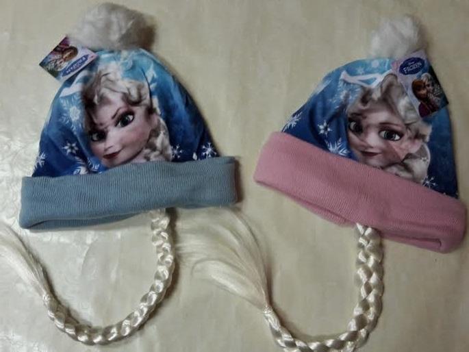 322cf9e05 Zimná čiapka frozen modrá a ružová, disney,116 / 134 - 4,90 € od  predávajúcej ninaanina | Detský bazár | ModryKonik.sk