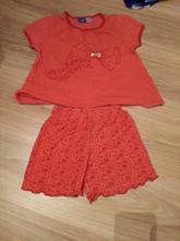 Dievčenské letné pyžamo, lupilu,98