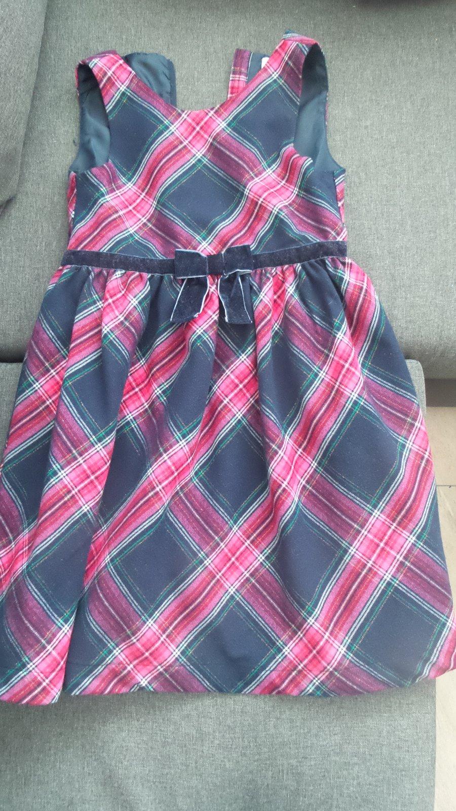 8627631c599db Kárované vianočné šaty, 140 - 12 € od predávajúcej nikush29 | Detský ...