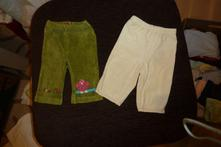 Nohavice velúrové 2 ks, 50