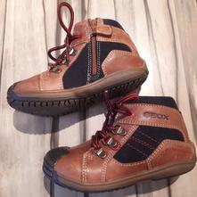 Geox kožené topánky , geox,24