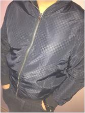 Tmavomodrá bunda zn.gucci - veľkosť m l 9d40e913e81
