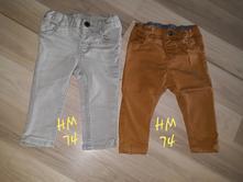 Nohavice h&m, h&m,74