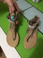 Dámske letné sandálky 36/37, 36