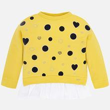 Mayoral dievčenské tričko - pulover 4403084 amber, mayoral,98 - 134