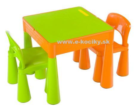 Tega baby mamut stolček + dva stoličky - 4 farby,