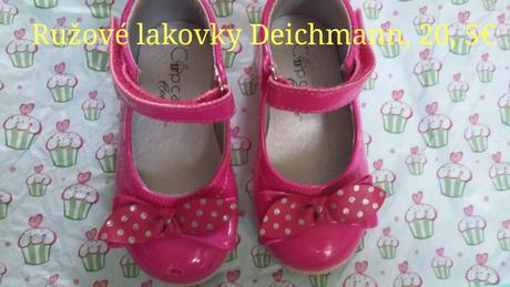 bdbd05947cfb Ružové lakované topánky s mašľou