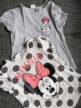 2x tričko minnie, h&m,92