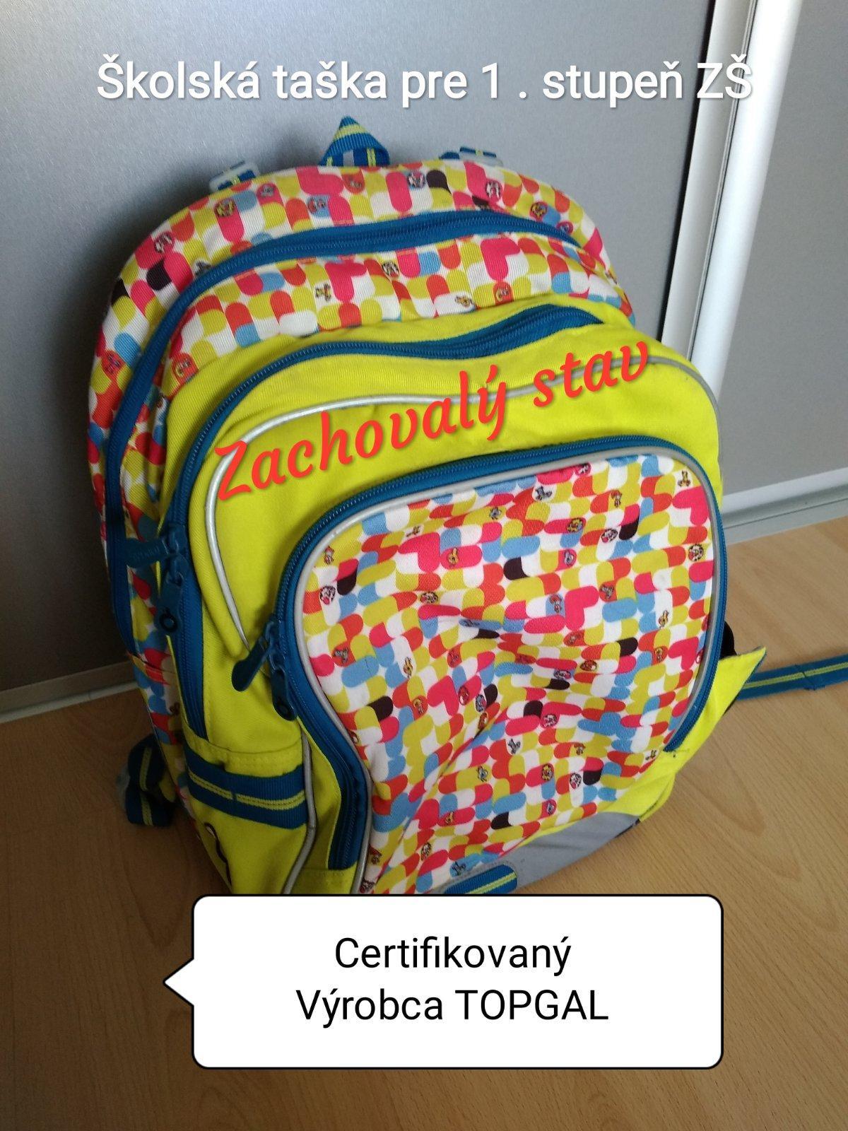a539132684 Školská taška topgal pre 1. stupeň zš uni