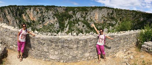 Hrad nad Modrým jazerom - Chorvátsko