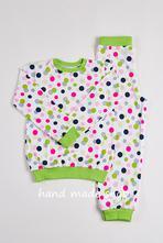 Detské pyžamo 6 vzorov, 98 - 146