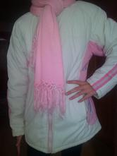 Zimná bunda pre dievčatko, 158