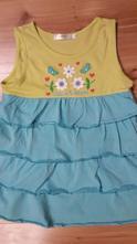 Bavlnené tričko, tunika, symbolická cena, 128