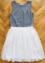 Tylové šaty, h&m,158