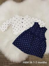 Šaty + svetrík, h&m,56