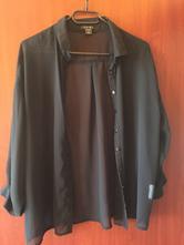 Čierna priesvitná bluzka, new yorker,m