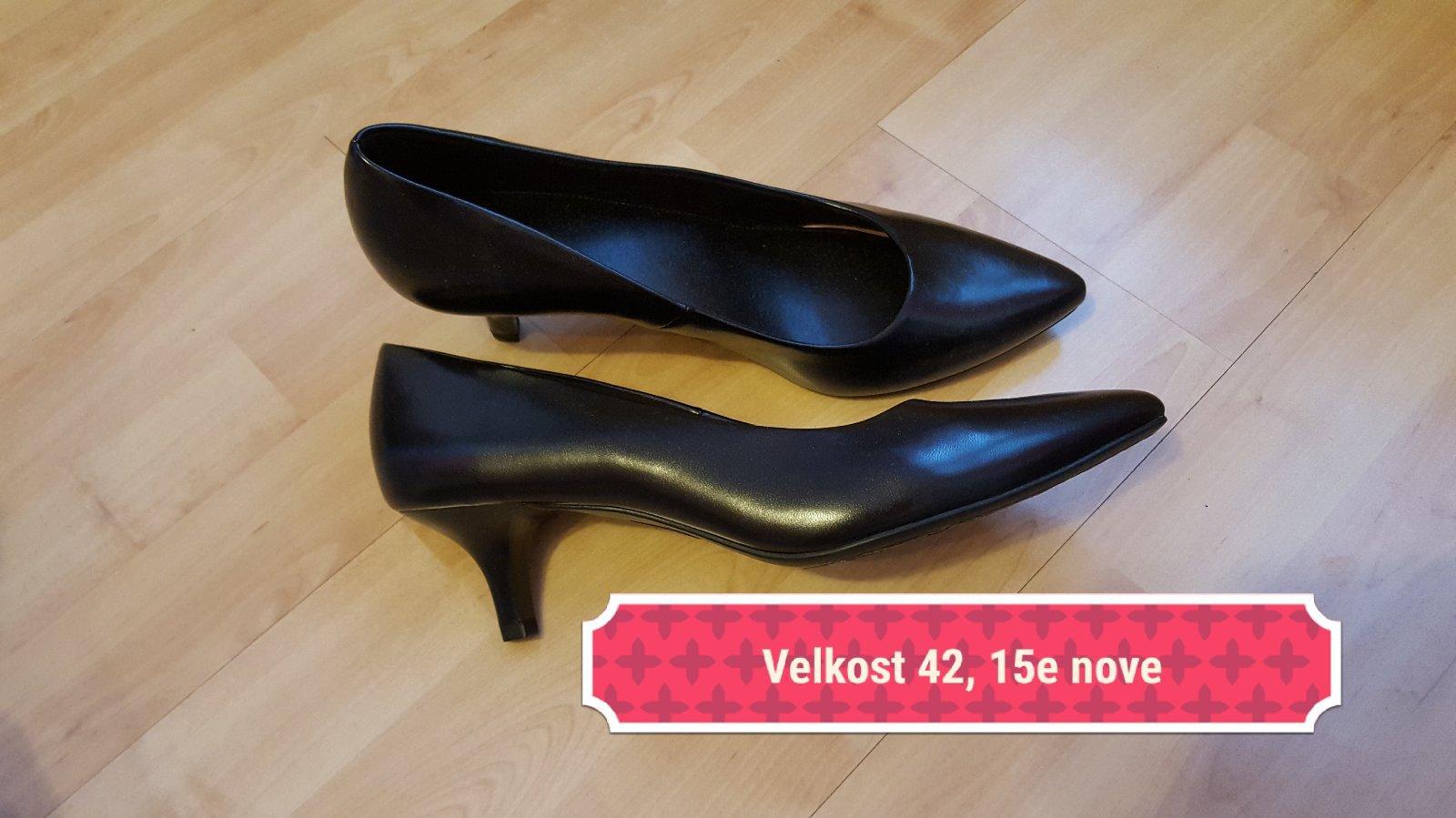 5b1f171e43b72 Čierne lodičky, deichmann,42 - 15 € od predávajúcej natalicenka | Detský  bazár | ModryKonik.sk