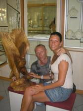 Budúci rodičia na dovolenke v Grécku, z tejto dovolenky sme si priniesli v brušku suvenír