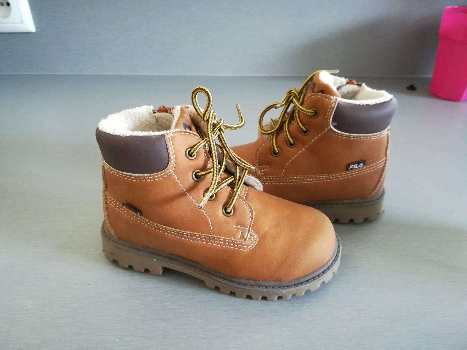 e0711c544 Fila zimné topánky, fila,25 - 13 € od predávajúcej lula87 | Detský bazár |  ModryKonik.sk