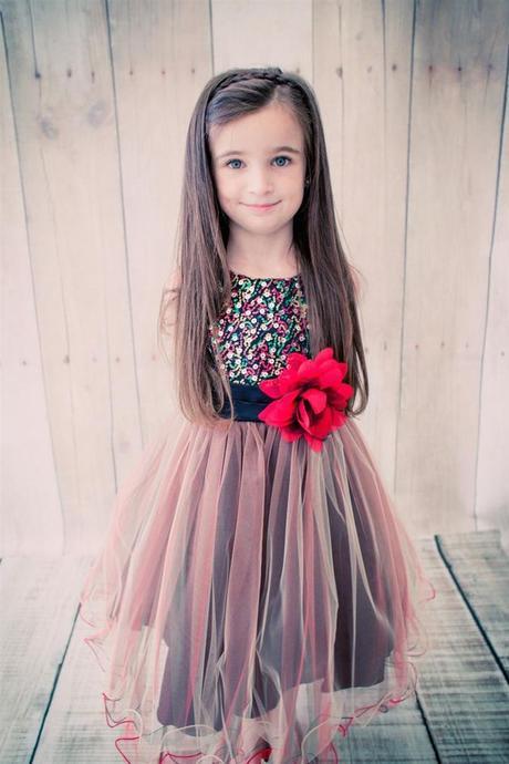 Dievčenské spoločenské šaty chantal červené f96bbaab927