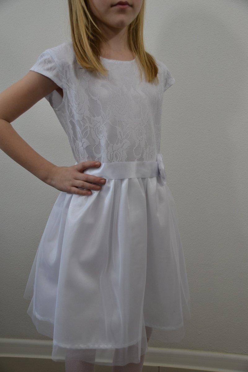 c074895a2284 Biele spoločenské šaty