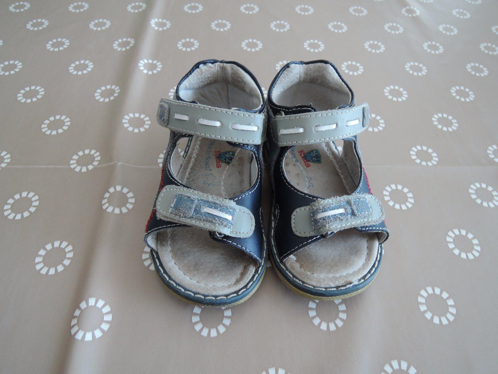 746bd9a9effd Kozene sandalky dr.monte bosco vel.22