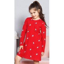Detská bavlnená nočná košeľa s dlhým rukávom mýval, vienetta kids,152 / 158 / 164