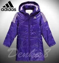 Dievčenská zimná bunda, adidas,110 / 116 / 128