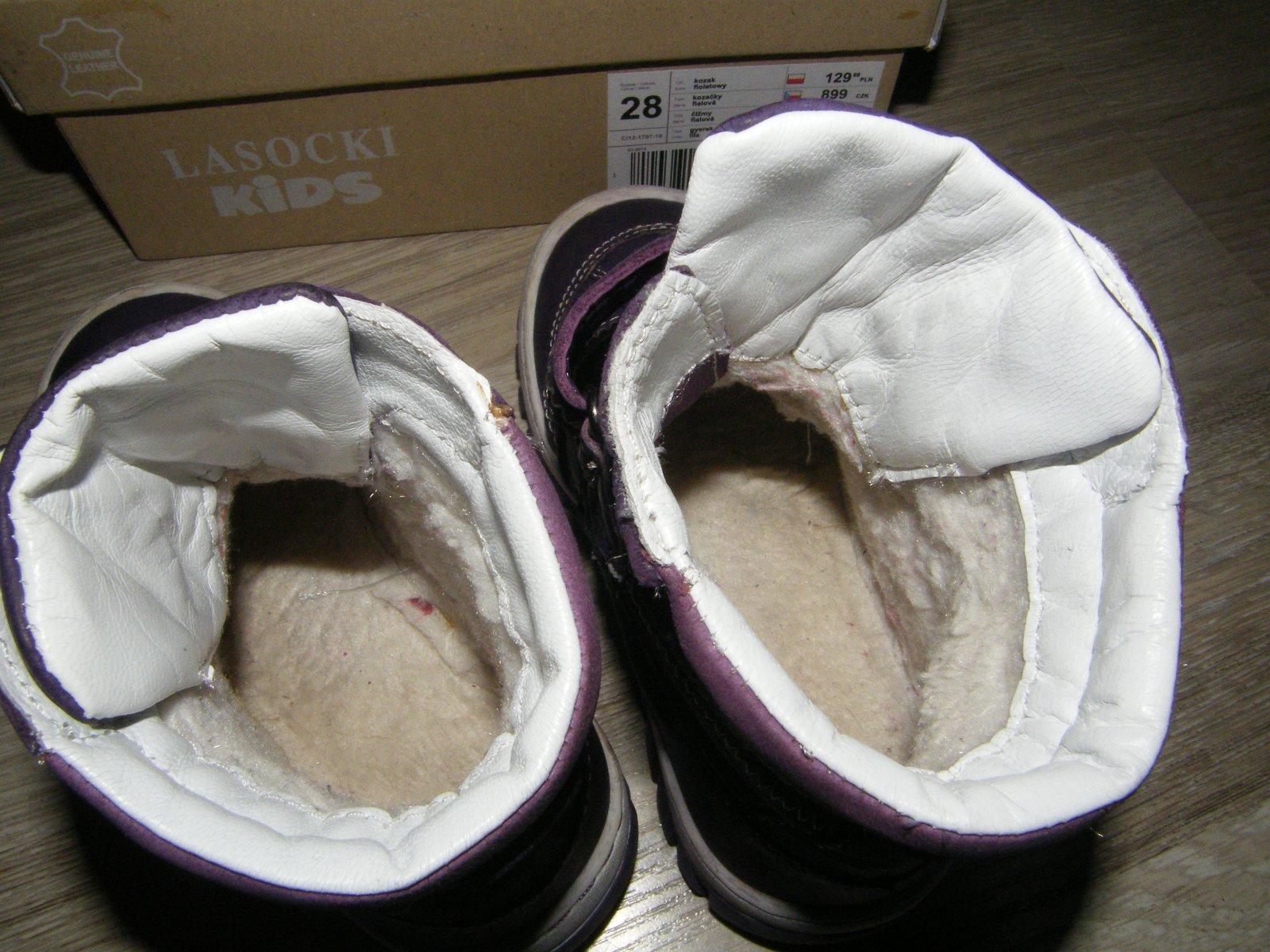 161c179529 Kožené zimné topánky - výborný stav