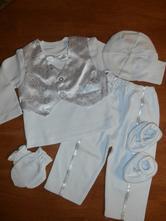 Chlapčenské oblečenie na krst 11  veľ. cca.68     , 68