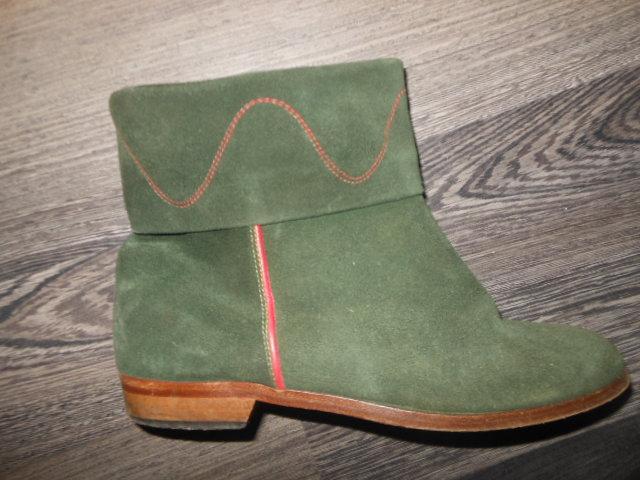 e4287aa144 Kožené kotníkové topánky vero cuoio 36