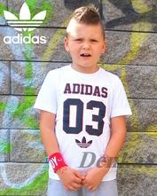 Tričko pre chlapca, adidas,140