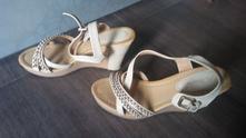 Sandalky na platforme, 36
