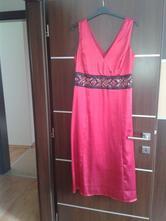 Saténové spoločenské šaty, bonprix,42