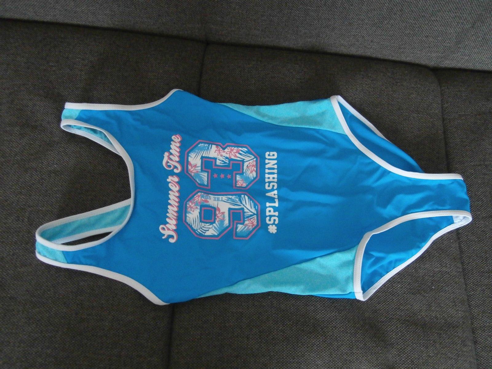 f1ab133d0f4a0 Dievčenské celé plavky č.128, kik,128 - 5 € od predávajúcej lastovicka69 |  Detský bazár | ModryKonik.sk
