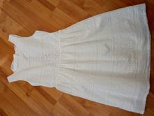 Biele šaty, h&m,134