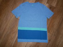 Modré tričko, h&m,146