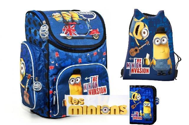 f2778b29dd Školská taška aktovka 3v1 minions mimoni