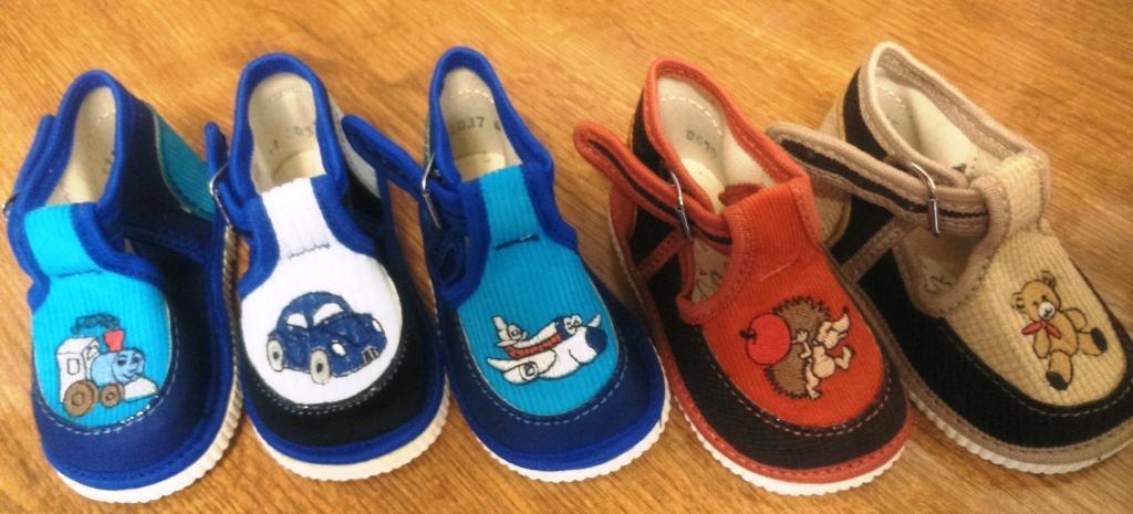 Sandálky s výšivkou -č.17  výpredaj skladu  e175614f627
