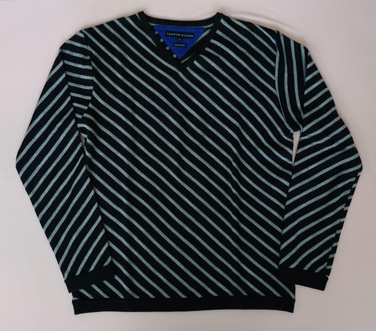 Pánsky sveter tommy hilfiger - top stav f0674062061