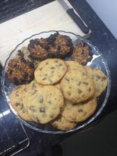 Maslové cookies, cookies z vločiek 🍪🍪🍪