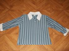 Modra pasikava bluzka, xxxl